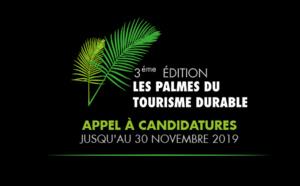 Palmes du Tourisme Durable : ouverture officielle des candidatures à la 3e édition !