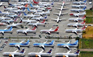 Boeing : une cinquantaine de B 737 supplémentaires cloués au sol