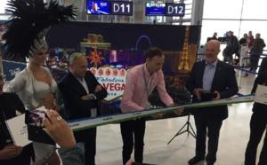 Level a inauguré sa liaison entre Paris et Las Vegas