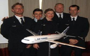 Air France fête le 5ème anniversaire de Saphir à Nice