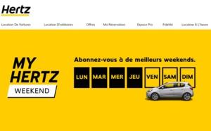 Hertz lance son abonnement week-end en France