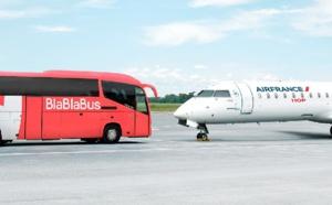 Air France relie Lyon à 5 villes avec BlaBlaBus