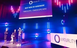 Réalité Virtuelle : Timescope récompensée au salon Virtuality