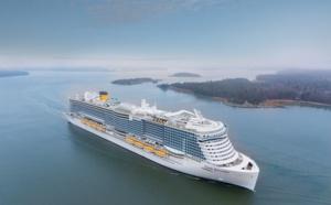 GNL : tests en mer validés pour le Costa Smeralda