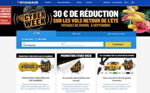 Ryanair : 250 000 sièges à partir de 9,99 euros pendant 24 heures !