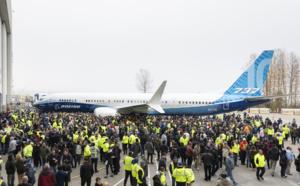 Quand Boeing fête son nouveau… 737 Max
