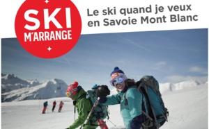 """Savoie Mont Blanc lance """"Ski m'arrange"""" pour des séjours """"en décalé"""""""