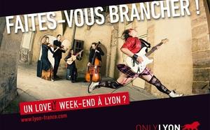 Lyon lance une campagne d'affiche sur le réseau RATP à Paris