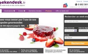 Weekendesk : le site Internet change de peau