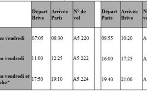 Airlinair : la ligne Brive-Orly Sud a dix ans en 2012