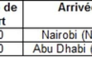 Etihad Airways : le premier vol vers le Kenya s'est posé à Nairobi le 1er avril 2012