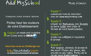 Challenge Add MySchool : le Groupe l'ESCAET en pôle position
