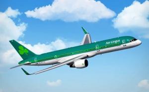 Aer Lingus : 2,5 millions de passagers transportés entre l'Irlande et l'Amérique du Nord