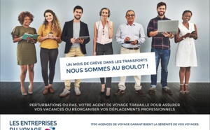 Grève des transports : les EDV communiquent sur le rôle de l'agent de voyages