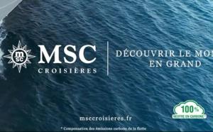 MSC Croisières lance sa nouvelle campagne (Vidéo)