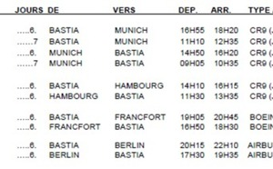 Lufthansa : deux nouvelles lignes entre la Corse et l'Allemagne