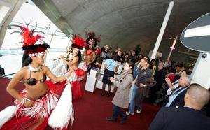 Roissy : Air Tahiti Nui fête les 10 ans de son vol Paris-Papeete
