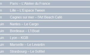 L'AFCC part en tournée en France du 5 au 28 juin 2012