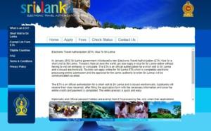 Sri Lanka : l'ETA re-devient payant