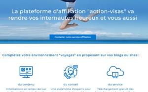 """La plateforme d'affiliation """"Action-Visas"""" va rendre vos internautes heureux, et vous aussi"""