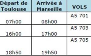 Airlinair : la ligne entre Toulouse et Marseille ouvre le 28 mai 2012