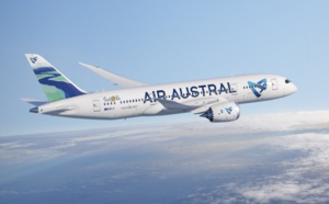 Air Austral suspend ses opérations sur la ligne Réunion - Canton jusqu'en juin 2020