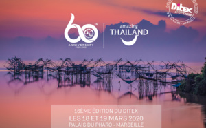 L'Office National du Tourisme de Thaïlande et Thai Airways International fêteront leur 60ème anniversaire à l'occasion du DITEX 2020