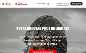 Qioz : l'Île-de-France ouvre son e-learning des langues à l'hôtellerie-restauration