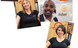 N. Lakhneche, C. Holbé et R. Andria rejoignent les équipes de Misterfly
