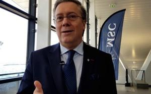 """Coronavirus : """"Nous avons revu nos budgets à la baisse et retardé des projets..."""" Patrick Pourbaix (MSC Croisières)"""