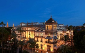 Séville : l'hôtel Alfonso XIII rouvre ses portes le 4 juin 2012
