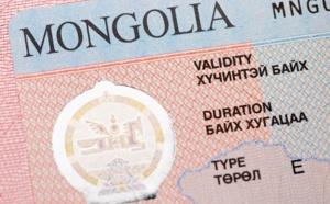 Mongolie : l'ambassade suspend la délivrance des visas