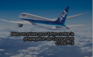 Coronavirus : ANA suspend Paris, Francfort (NH223/224), Munich, Düsseldorf, Bruxelles et Vienne