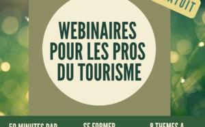 François - tourisme - Consultants lance une série de webinaires gratuits