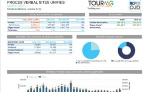 Audience : en mars 2020, TourMaG.com a triplé son audience (3,1 millions de visites)