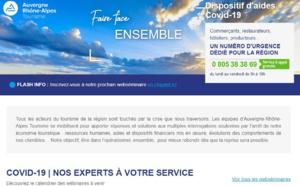 Auvergne-Rhône-Alpes Tourisme : 3 webinaires pour les pros du tourisme