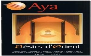 Aya, « Désirs d'Orient » : nouvelle brochure et projet de site B2B