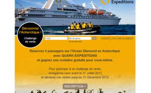 Challenge de ventes Quark Expeditions : des croisières en Antarctique à gagner