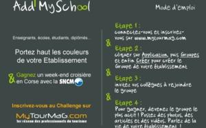 Challenge Add My School : Escaet (MBA et Bachelor), CAP vers, Faculté Métier Essonne et Lycée Honoré Romane, sont les grands vainqueurs