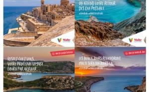 Malte lance une nouvelle campagne sur ses réseaux sociaux