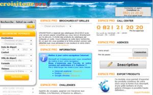 Croisitour fait de son site B2B, une passerelle entre le client et l'agence