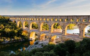 Du Pont du Gard aux citadelles du vertige cathares, innombrables empreintes de l'Histoire