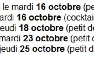 JetSet Voyages : roadshow Brésil du 16 au 25 octobre 2012 en France