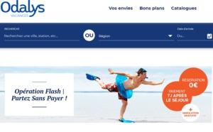 """Odalys met en ligne une offre baptisée """"Partez sans payer"""" jusqu'au 6 juillet 2020"""