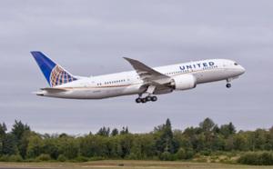 United Airlines reçoit son 1er 787 Dreamliner