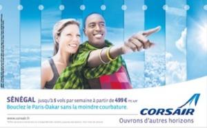 Corsair : campagne de communication pour lancer les ventes des vols vers Dakar