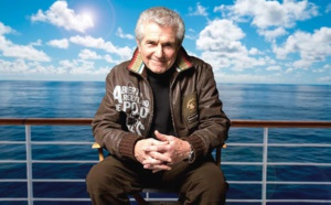Croisière Jazz'en Mer : Claude Lelouch en tournage à bord du Costa Diadema