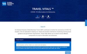 Covid-19 : Amex GBT lance Travel Vitals une plateforme d'infos dynamique