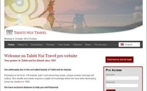 Tahiti Nui Travel lance un nouveau site BtoB