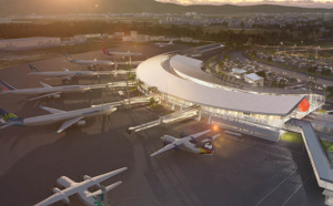 L'Aéroport Martinique Aimé Césaire relance le chantier d'extension de l'aérogare passagers